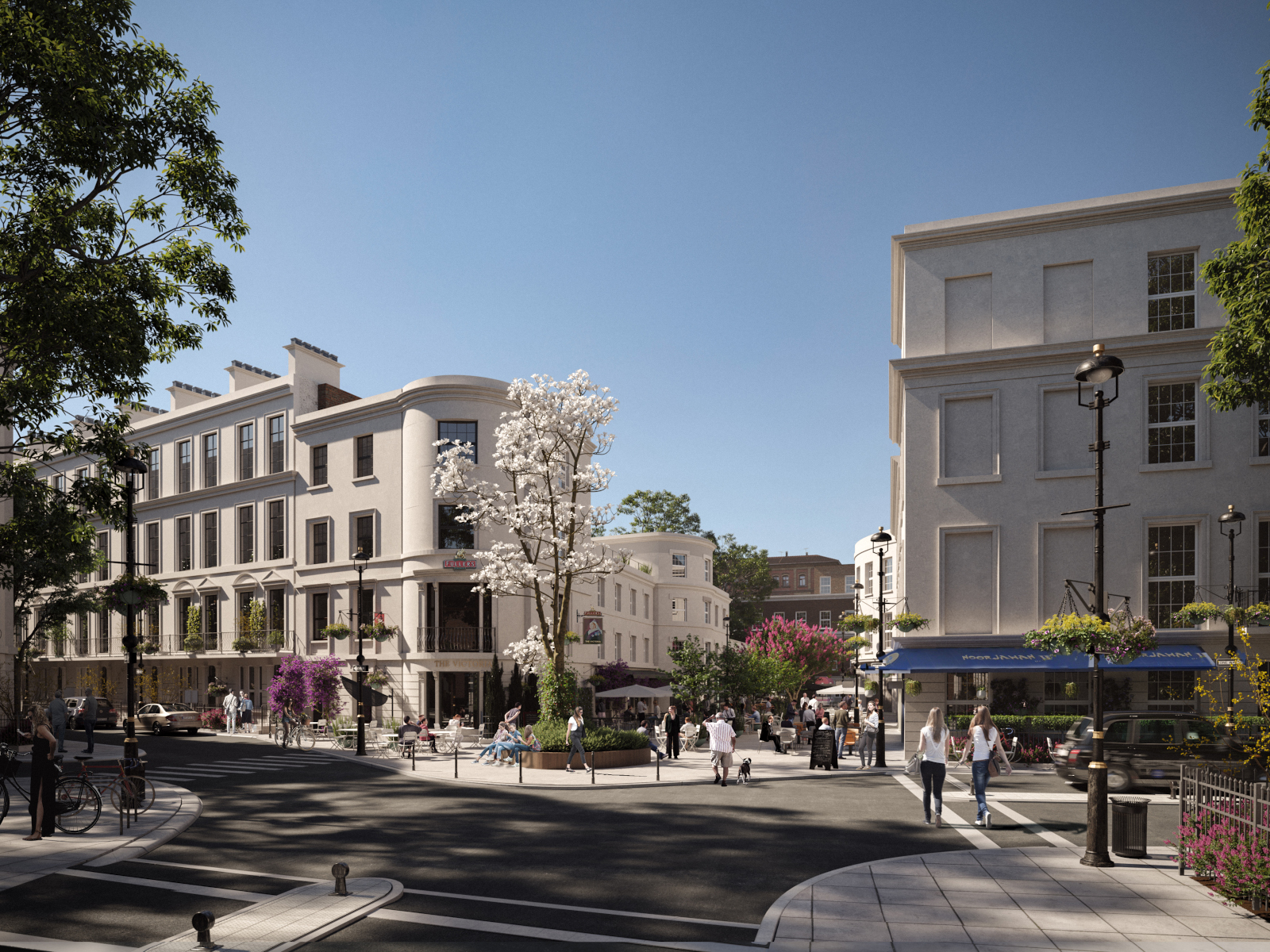 Artist's impression of how Sussex Place could look